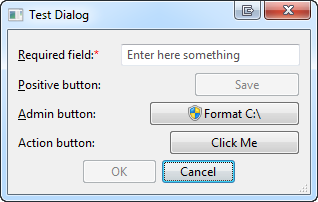 Button control demo
