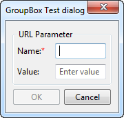 GroupBox control example