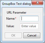 GroupBox control example