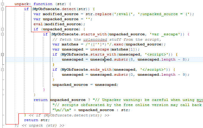 Colored Indent Guides in HippoEDIT