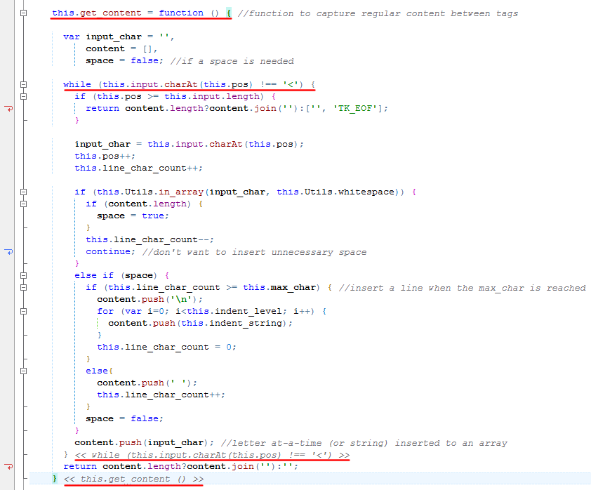 End Tag Annotations in HippoEDIT